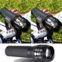 Luz Delantera Bicicleta Linterna Alta Potencia Con Soporte