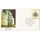 Sobre Primer Dia Estampillas Heraldica San Juan Pasto 1983