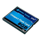 Memoria Compact Flash Pqi 8gb, Grado Industrial.