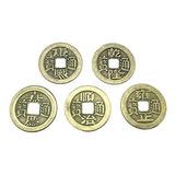 Honeytoys 100 Piezas Monedas De Buena Suerte Chino, Monedas