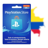 Tarjeta Psn 20 Usd - Colombia