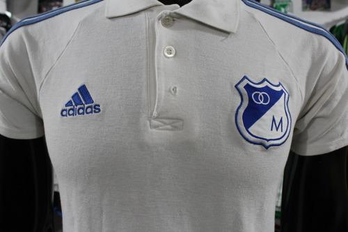 849aa47f2aadf Camiseta Tipo Polo Millonarios adidas Talla S Xdx
