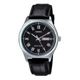 Reloj Casio Ltp-v006l Dama Cuero Calendario 100% Original