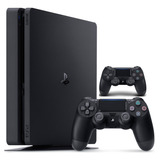 Consola Playstation 4 Slim 1tb Con 2 Controles Cable Hdmi