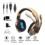 Audífonos Gamer Camuflado G305 Pc, Ps4, Xbox One + Obsequio