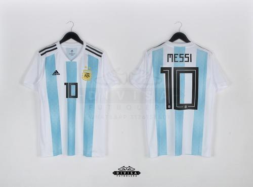 Nueva Camiseta Seleccion Argentina Lionel Messi Mundial 73ddf872cdc86