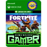 Fortnite Salvar El Mundo Deluxe Xbox One No Codigo Online