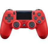 Control Ps4 Segunda Generacion Dualshock 4 Rojo Playstation