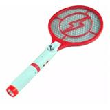 Raqueta Electrica Mata Mosquitos Y Moscas Con Linterna