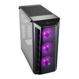 Chasis Cooler Master Mb520 Vidrio Templ 3 Ventiladores Rgb