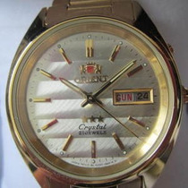 Orient Japan Men's 3 Estrellas Automatic Gold Fem5m00xw9