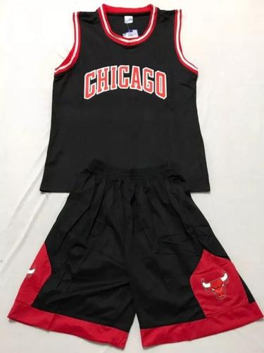 f57e2947ee6a7 Uniforme Baloncesto Chicago Bulls Niños Talla 14 16