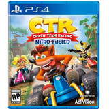 Crash Car Ps4 Ctr. Español Latino. Fisico.