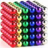 Bolas Magneticas 6 Colores Buckyballs Neocube  216 Unid 5mm