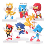 Colección Figuras Sonic , Importados, Coleccion