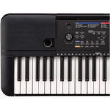 Piano Yamaha Psr E263 Estuche + Base + Dvd + Atril Citimusic