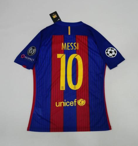 Camiseta Barcelona Messi 10 Version Champions 2016-2017 2a3e8ae5e77