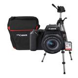 Cámara Fotográfica Canon Eos Sl3 Con Lente 18-55 Nueva