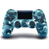 Control Ps4 Playstation 4 Original New Color Azul Camuflado