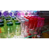 Botella Recordatorios Personalizadas Envase Plastica 12cm