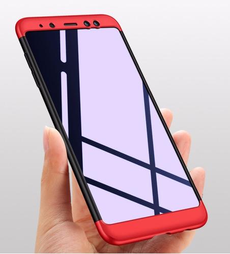 ecefc3b27ea Forro Funda Estuche 360 De Lujo Samsung A6 Plus 2018