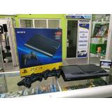 Ps3 Super Slim + Con Juegos + 2 Controles 250gb