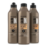 Kit Keratina Braziliss Salon In 1000ml - mL a $33