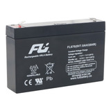 Bateria Sellada Fulibattery 6v 7ah (7 Amperios) Original+env