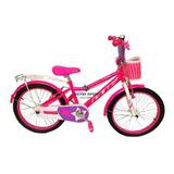 Bicicleta Niña Gw Rin 20 Con Accesorios De 7 A 12 Años
