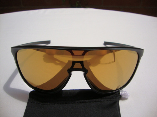 71a4807150 Nuevas Gafas Oakley Trillbe Negra Mate Lente 24k ( Holbrook