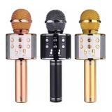 Micrófono Portátil Parlante Karaoke Bluetooth Ws858