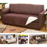 Forro Protector De Sofa Y Muebles Perros Y Moscotas 3puestos