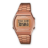 Reloj Casio Retro Oro Rosa B640wc100% Original Nueva Colecci