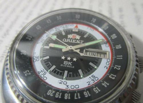 12f9e3fd8380 Antiguo Reloj Orient Automatico Vintage Para Hombre