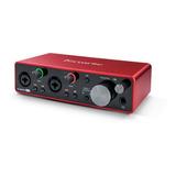 Focusrite Scarlett 2i2 3rd Gen / Interfaz De Audio