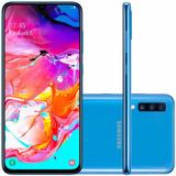 Samsung Galaxy A70 6gb 128gb + 128gb Sd / Dual + Estuche
