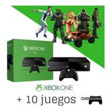 Xbox One Usado + 10 Juegos + Fifa + Gta V