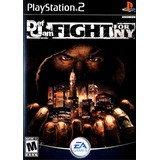 Def Jam Fight For Ny Juego Para Playstation 2 Por Usb