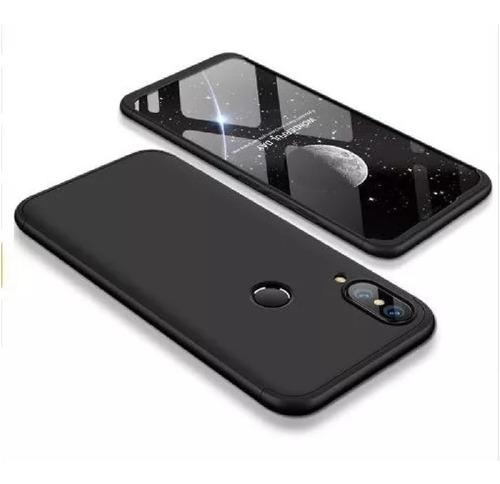 Estuche Funda Protector 360 Grados Huawei P20 Lite Negro