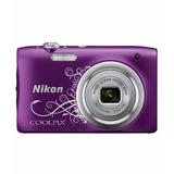 Cámara Digital Nikon Coolpix A100 20.1 Mpx Hd Original F
