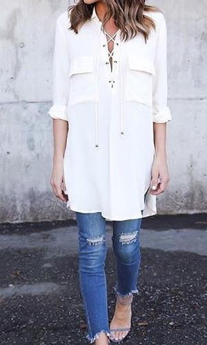 Blusas para mujer Limonni LI382 Casuales