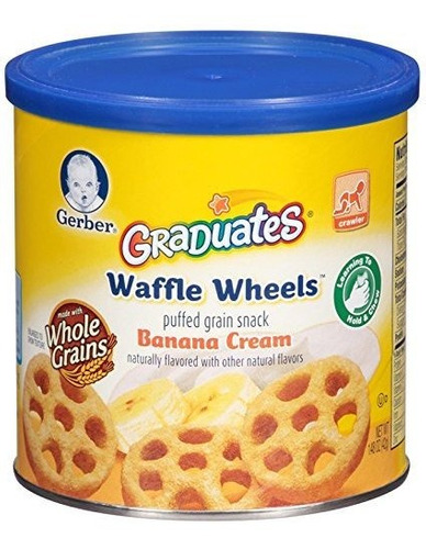 Gerber Graduates Waffle Wheels - Crema De Plátano