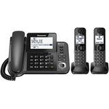 Panasonic Kxtgf382m Dect 2handset Teléfono Fijo