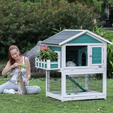 Casa Jaula De Conejos Petsfit