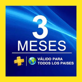 Playstation Plus 3 Meses + Regalo Psnow (+600 Juegos)ps4-ps3