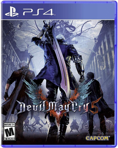 Devil May Cry 5 Standard Edition Ps4 Nuevo Físico Sella 100%