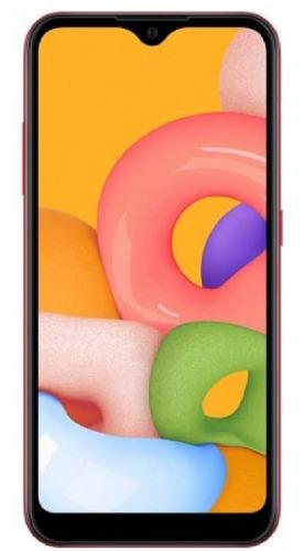 Celular Samsung Galaxy A01 32 Gb Rojo Dual Sim