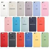 Silicone Case iPhone 5, 6, 6s, 7, 8, 7plus, 8plus, X