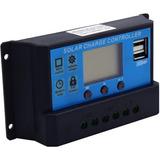 Controlador Regulador Carga Panel Solar 30a Baterias 12v 24v