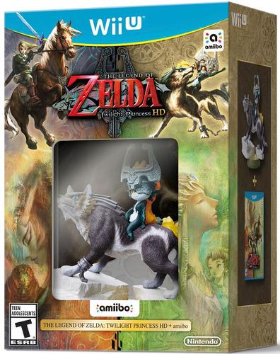 The Legend Of Zelda Twilight Princess Hd + Amiibo Wolf Link